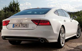 2011 Audi A7, reviewed on DeniseMcCluggage.com